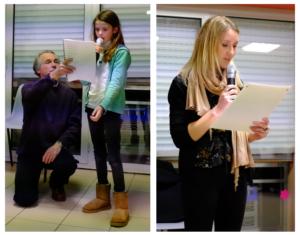 Lecture de poèmes par les enfants (petits et grands) de Saint-Jacut