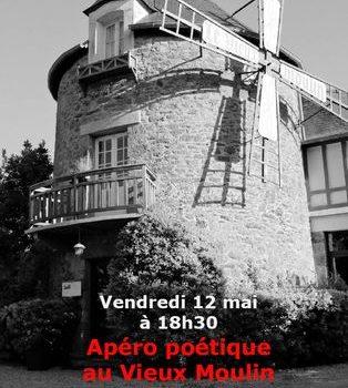12 mai Apéro poétique au Vieux Moulin