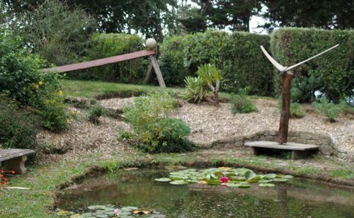 Le jardin-atelier Sanquer-Guilloux