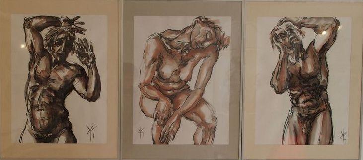 Les ateliers d'artiste … Yves Grandjean
