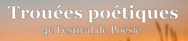Festival les Trouées poétiques – mars 2018