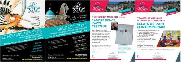 En mars à l'Abbaye de St-Jacut, les sens sont en éveil !