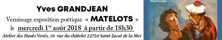 mercredi 1er août – Vernissage Atelier Grandjean