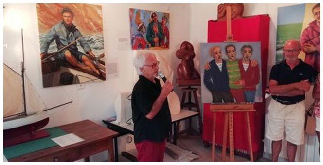 Atelier Grandjean -Vernissage du 1er août