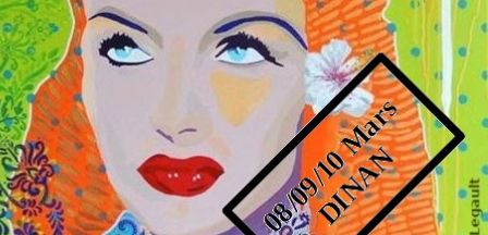 Journée de la femme – Art et poésie à l'honneur – Dinan du 8 au 10 mars