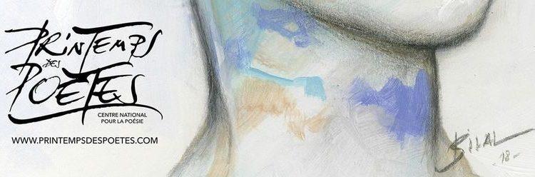 Printemps des poètes 2019 – 16 mars – Récital du poète André Velter et du violoncelliste Gaspar Claus