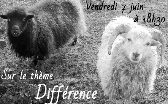 Différence, thème de l'apéro-poétique du 7 juin au «Vieux Moulin»