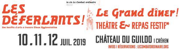 LES DÉFERLANTS! 10-11-12 juillet 2019 – 1re édition