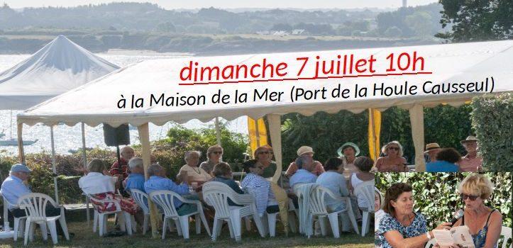 Café Bouquin Poésie – dimanche matin 10h à la maison de la mer