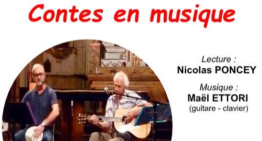 Lundi 12 août – Contes en musique 20h45 à l'Abbaye de St Jacut