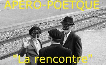 La rencontre, thème de l'apéro-poétique du 11 octobre 2019 à La Goélette
