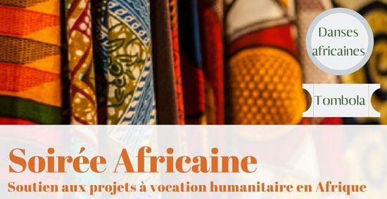 Soirée Back to Africa, 16 novembre, Salle des fêtes de Saint-Jacut de la mer