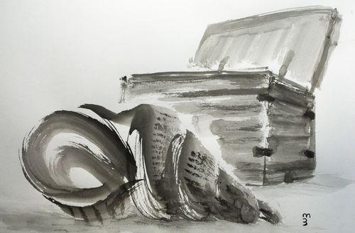«CONFINS» par Benoît Mercier Recueil de dessins et poèmes – mars 2020