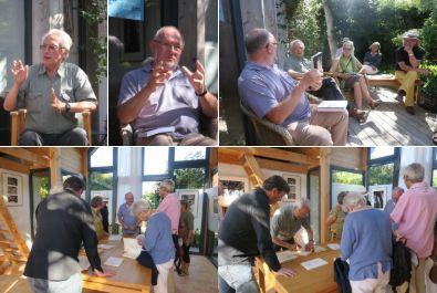 3 août – Echanges poétiques à l'Atelier Hofman