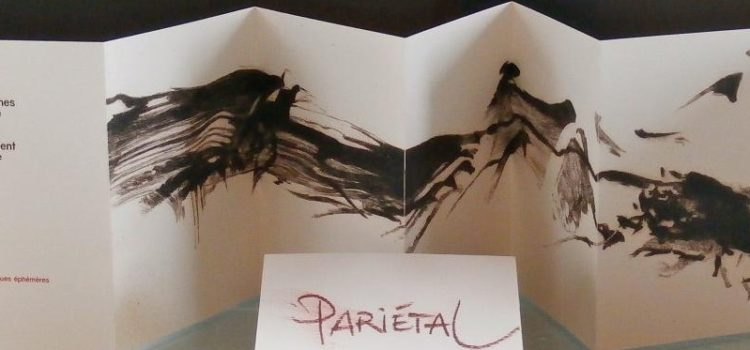 Aux éditions poétiques éphémères, les gravures d'Eric Saignes ont inspiré les textes de Guy Prigent.